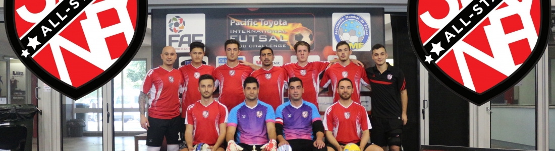 SYDNEY ALLSTARS FC REPRESENT AUSTRALIA AT INTERCONTINENTAL FUTSAL CUP