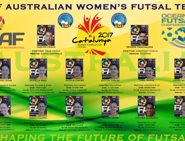 FAF WOMEN'S WORLD CUP TEAM ANNOUNCED