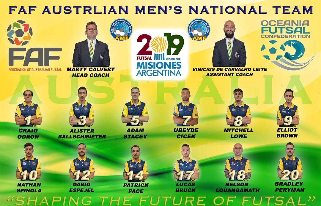 af3529b5b 2019 Australian National Futsal Men s Team – Futsal